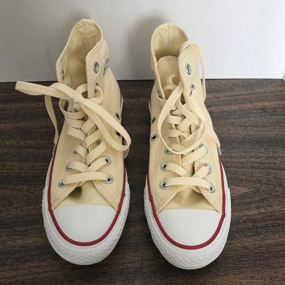 4da74c9f5852 Converse All Star Hi Natural White Size 5.5